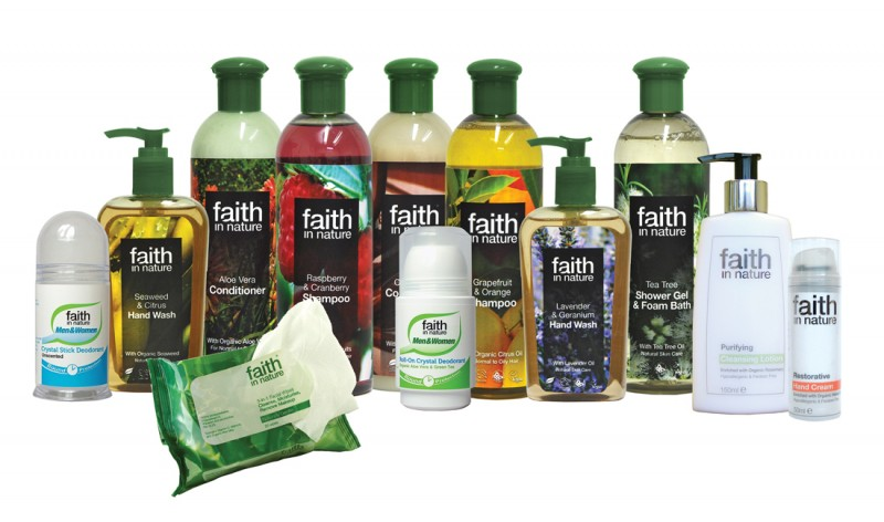 faith in nature beauty products