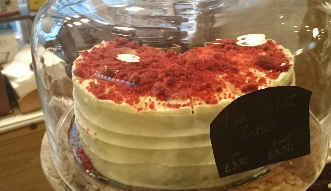 best red velvet cake in london