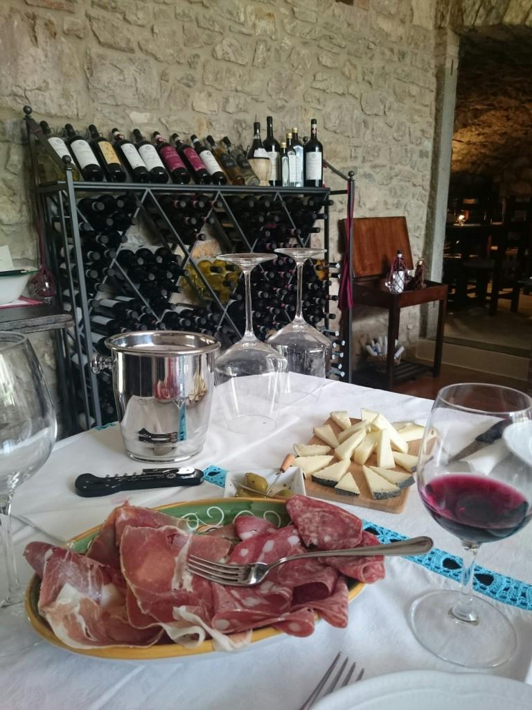 wine tasting Chianti tuscany