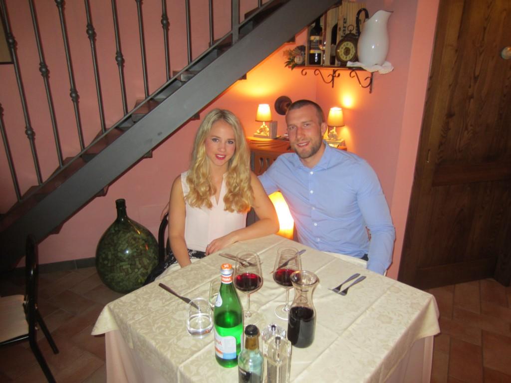 restaurant Lecchi in Chianti