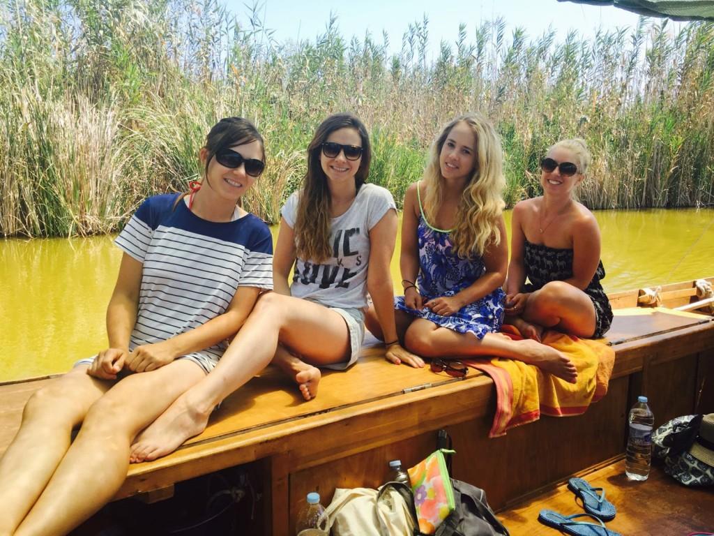 albufera park boat ride lake