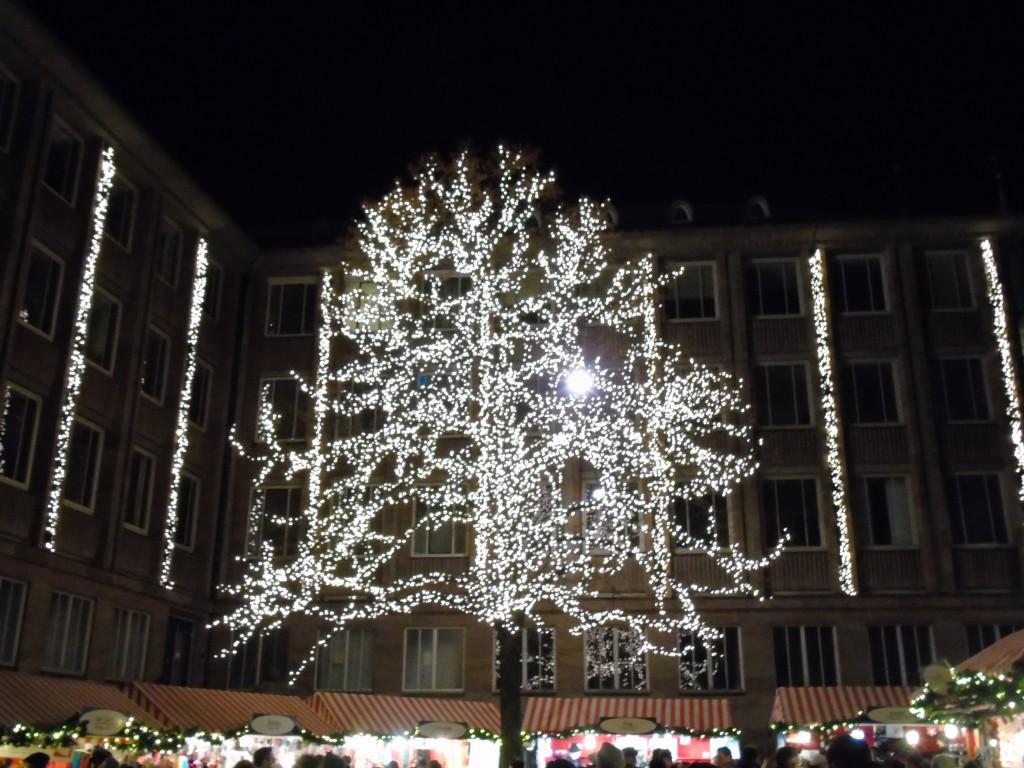 nurmeburg christmas markets tree lights