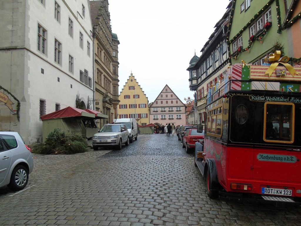 rothenburg der tauber germany town stop off