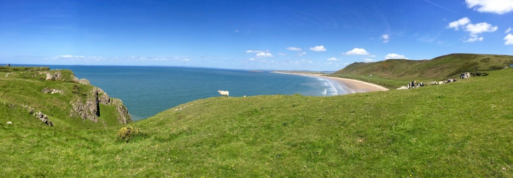 Rhossili Bay in South Wales