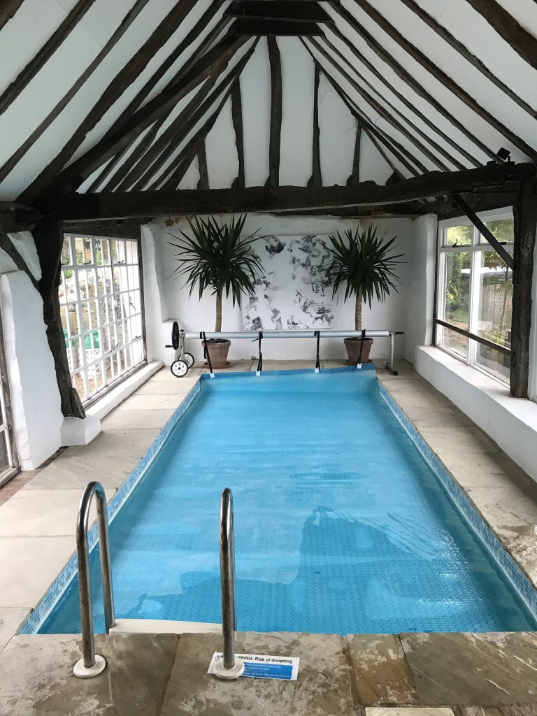 room with pool west sussex