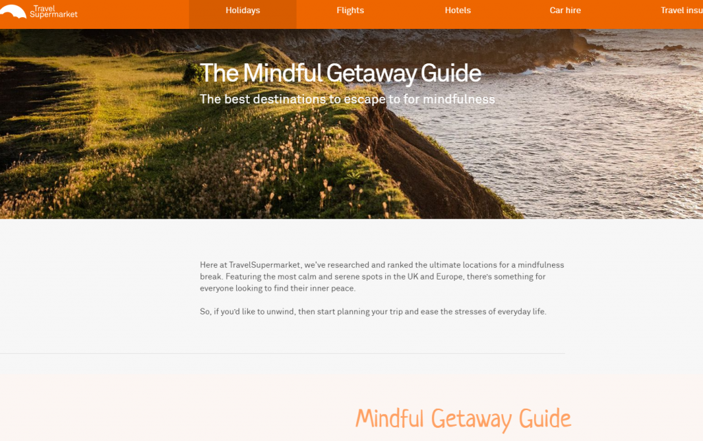 mindful getaway guide - top mindful destinations uk and europe