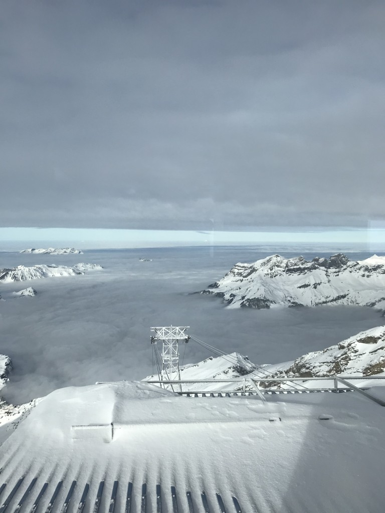 mount titlis engelberg above the clouds mountain views amazing
