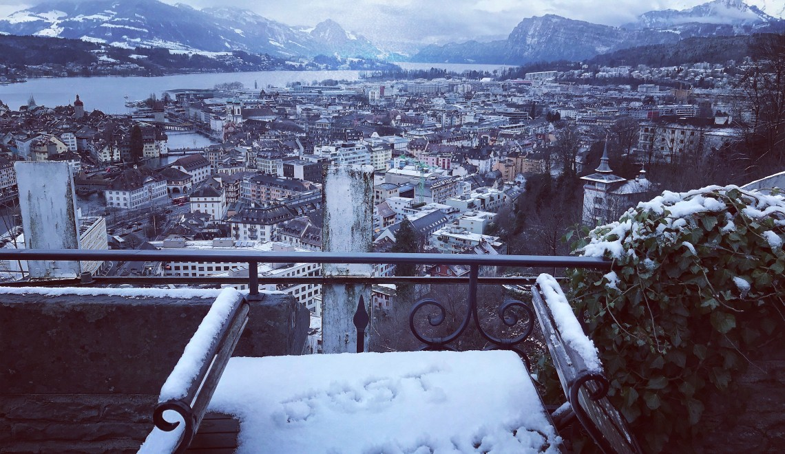 Our Magical Minimoon In Snowy Luzern