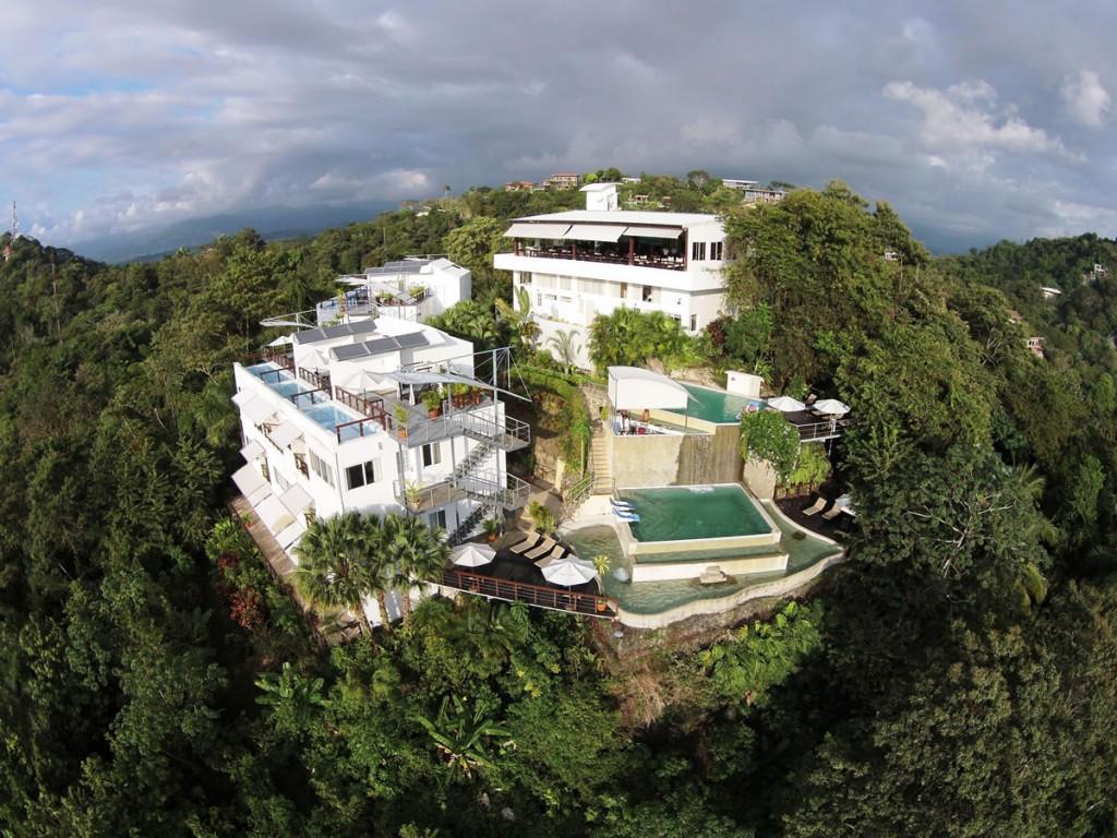 Gaia hotel costa rica multi level pool hotell