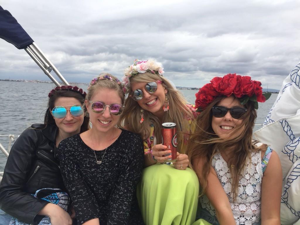lisbon boat yaught trip