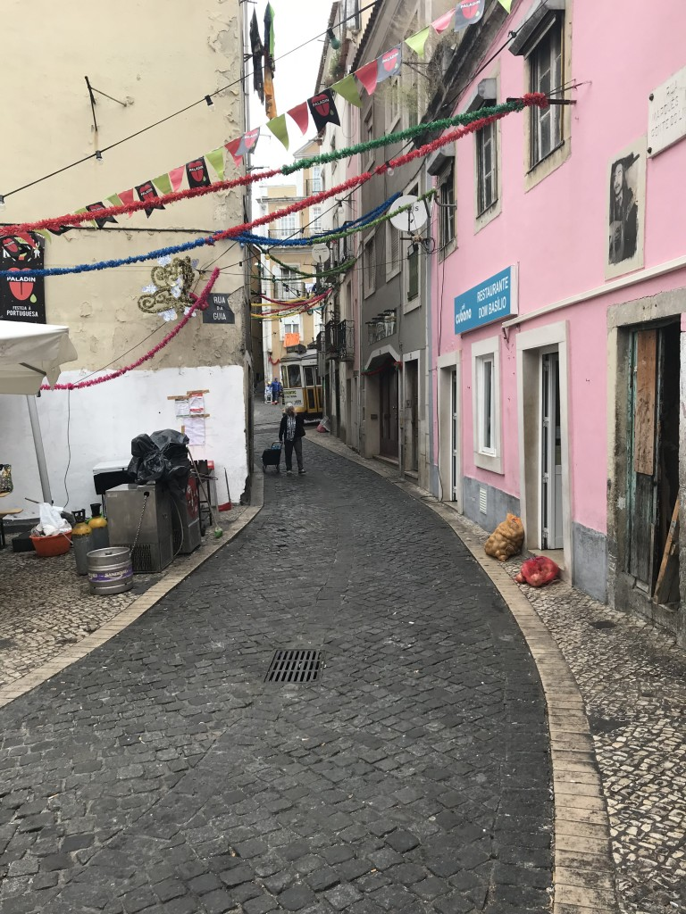 lisbon street portugal