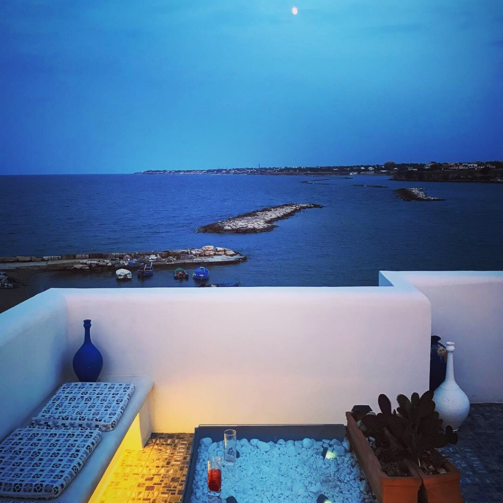 trani hotel with sea view panoramic puglia italy