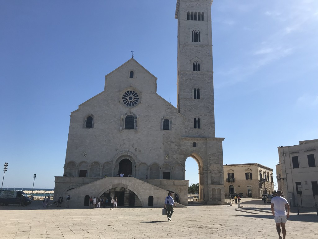 trani bell tower cathedral puglia italy