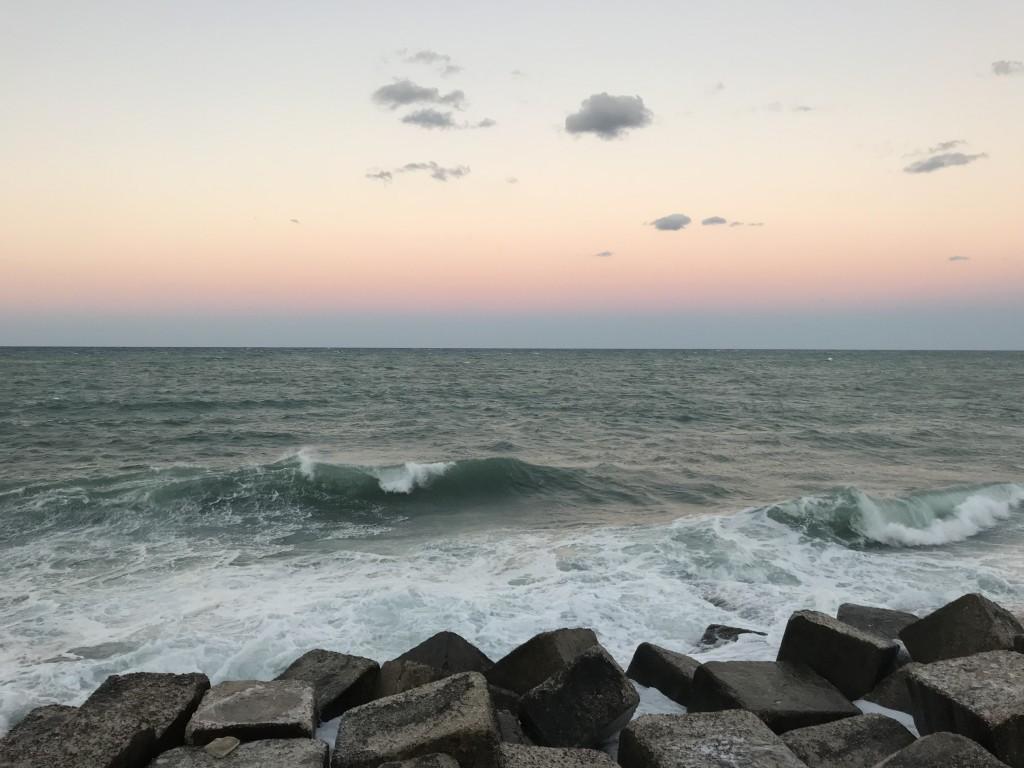 monopoli puglia sunset italy sea