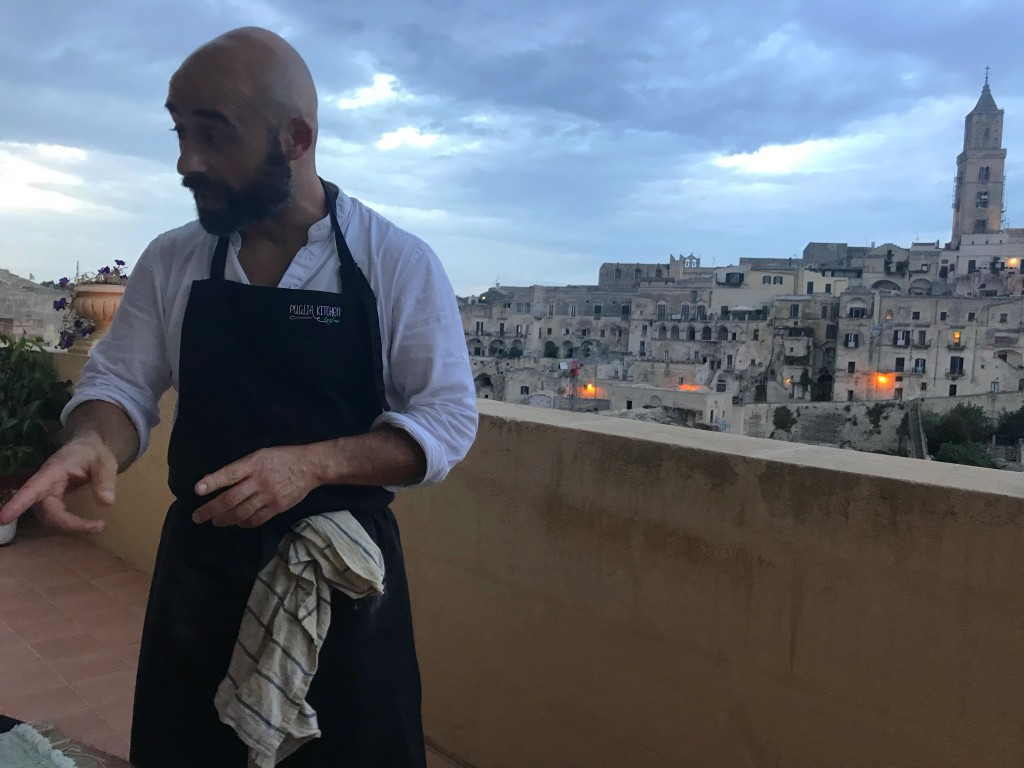 private chef matera puglia italy