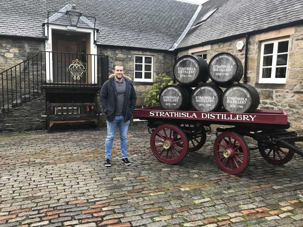 strathisla whisky distillery scotland