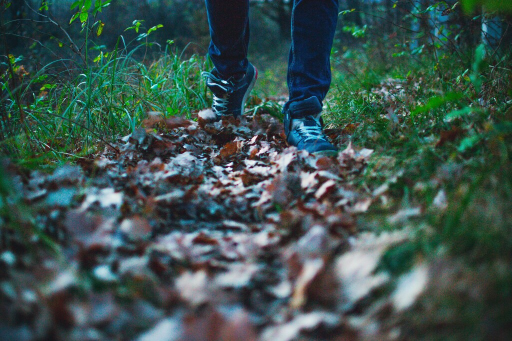 mindful walking clear your head
