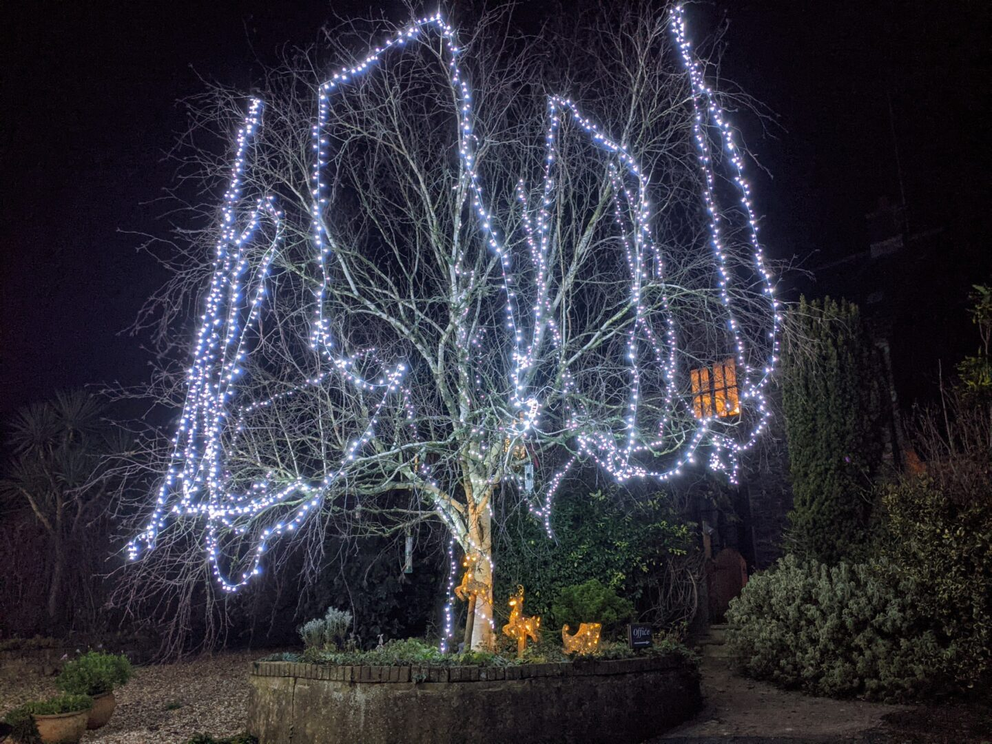 places to stay near kingswear, brixham christmas lights